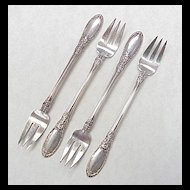 Towle Old Mirror Cocktail Fork Sterling Silver