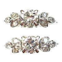 All Original 1930's Matching Hers & Hers Diamond Engagement Rings 18k White Gold