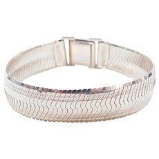 """Sterling Silver Wide Bracelet ~ 7 1/2"""""""