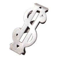 Sterling Silver $ Money Clip Men's