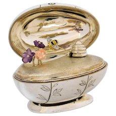 Cartier Fabergé Egg 18k Gold & Sterling, Honey Bee & Flowers  #18/25
