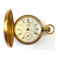 18k Gold Luzerne - Empress Pocket Watch