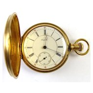 18k Gold Luzerne - Empress Pocket Watch