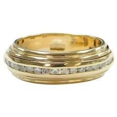 Diamond .42 ctw Spinner Band Ring 14k Gold