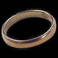 Vintage 10k Gold Baby Ring