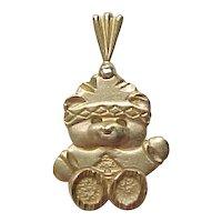 Vintage 14k Gold Bear Charm