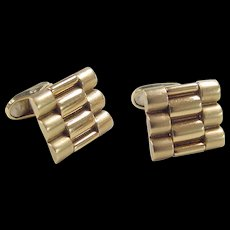 Vintage 18k Gold Cuff Links