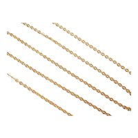 Cable Link Chain 18k Gold
