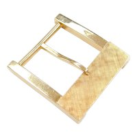 Vintage 14k Gold Belt Buckle