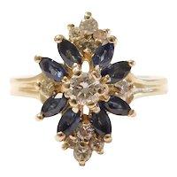 Sapphire and Diamond 1.62 ctw Ring 14k Gold