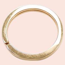 Split Key Ring 14k Yellow Gold