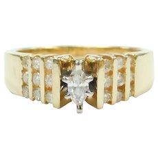 Diamond .50 ctw Engagement Ring 14k Gold