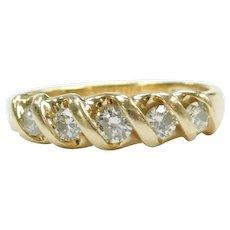 Diamond .50 ctw Band Ring 14k Gold