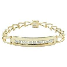 Diamond 1.10 ctw Bracelet 14k Gold