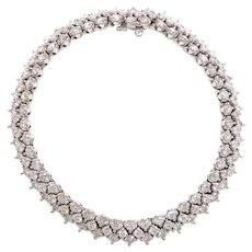 Diamond 6.30 ctw Tennis Bracelet 14k White Gold