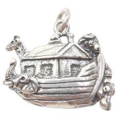 Sterling Silver Noah's Ark Charm