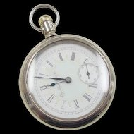 Vintage Base Metal Elgin Nat'l Watch CO. Pocket Watch