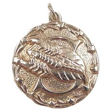 Virgo Fine Jewellery Jewellery & Watches Zodiac Vintage Silver Enamel Travel Charm