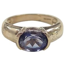 Vintage 14k Gold Tanzanite Ring