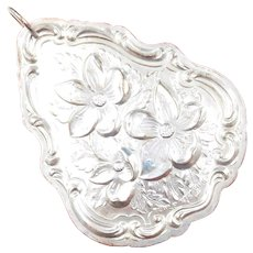 1983 Sterling Silver Towle Floral Ornament