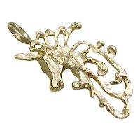 Vintage 14k Gold Unicorn Charm