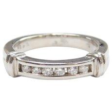 Diamond .18 ctw Band Ring 14k White Gold
