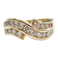 1.00 ctw Diamond Ring 14k Yellow Gold