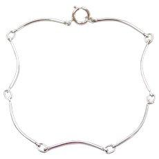 "5 1/2"" Sterling Silver Baby / Childs Bracelet"