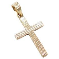 Cross Charm / Pendant 10K Gold
