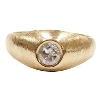 .38 Carat Transitional Cut Diamond Ring 14k Gold