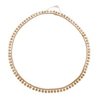 "Victorian 18 1/4"" 18k Gold Necklace"