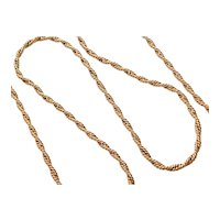 1/20th 14k Gold Filled Twisted Necklace / Chain