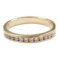 .24 ctw Diamond Wedding Band Ring 14k Gold