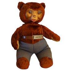 Vintage Ideal Smokey The Bear