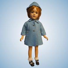 """Composition R & B (Arranbee) 17"""" Debu-Teen Doll"""