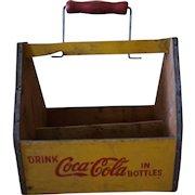 Rare 1940s WW2 Coca Cola War Wings Carrier