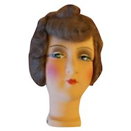 German Paper Mache Flapper Doll Head