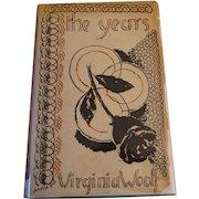 "Virginia Woolf First Edition "" The Years"" Hogarth Press"