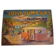 Jolly Jump-Ups Vacation Trip Book, 1942