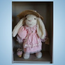 "Tilly Collectible ""Bethany"" 24"" Easter Bunny Made in U.S.A."