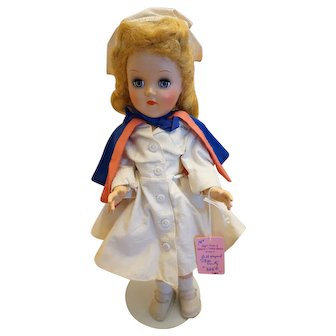 """All Original Ideal 14"""" Miss Curity Doll"""