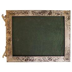 Vintage Silver Plate Frame