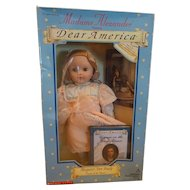"Madame Alexander Margaret Ann Brady ""Dear America"" Voyage of the Titanic Doll"