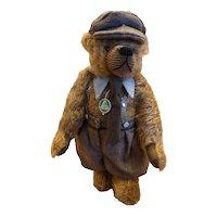 Hermann Professor Higgins Mohair Growler Teddy Bear Germany