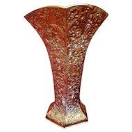Antique Barbour International Silver Co. Repousse Vase