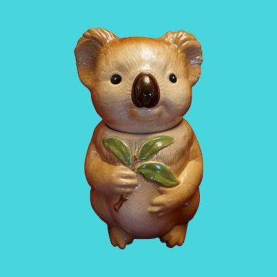 Metlox California Koala Bear Cookie Jar