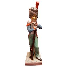 Sitzendorf Franz Grenadier 1792 Porcelain Napoleonic Soldier Figurine