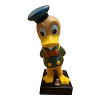 Vintage Disney Donald Duck Bobble Head Table Night Light