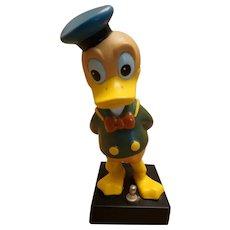 Vintage Disney Donald Duck Bobble Head Table Night Light