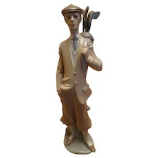 "Lladro ""Waiting To Tee Off"" Gentleman Golfer Figurine"